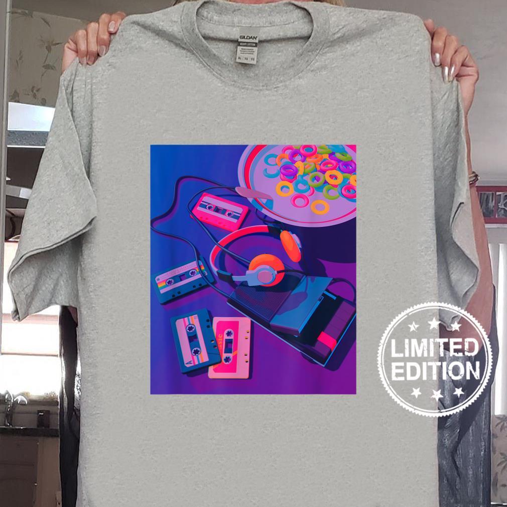80s 90s Vaporwave Retro Aesthetic Egirl Synthwave Vibe Shirt