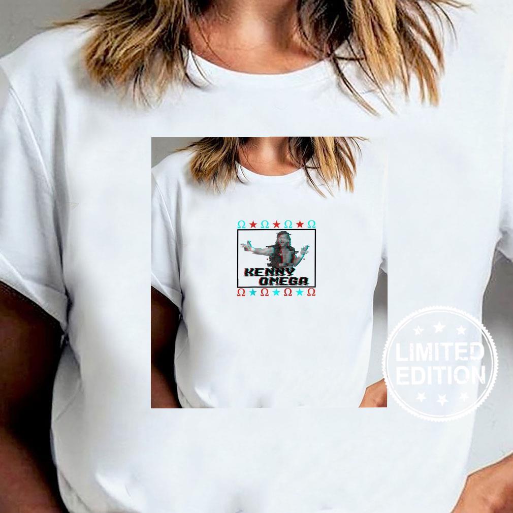 AEW Kenny Omega Glitch Shirt