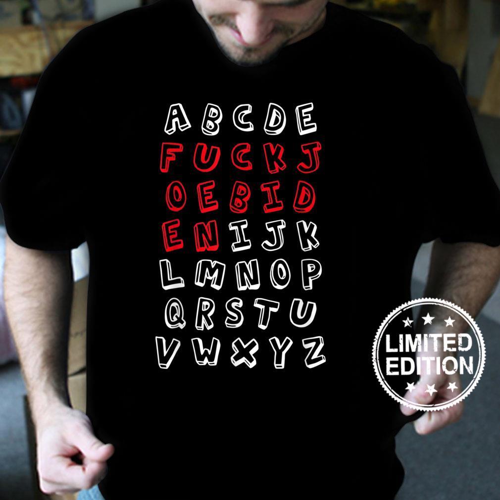 Mens Republican Alphabet Anti Joe Biden Shirt