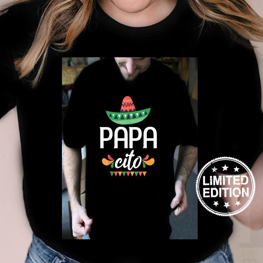 Papacito Serape Mexican Hat Cinco De Mayo Shirt ladies tee