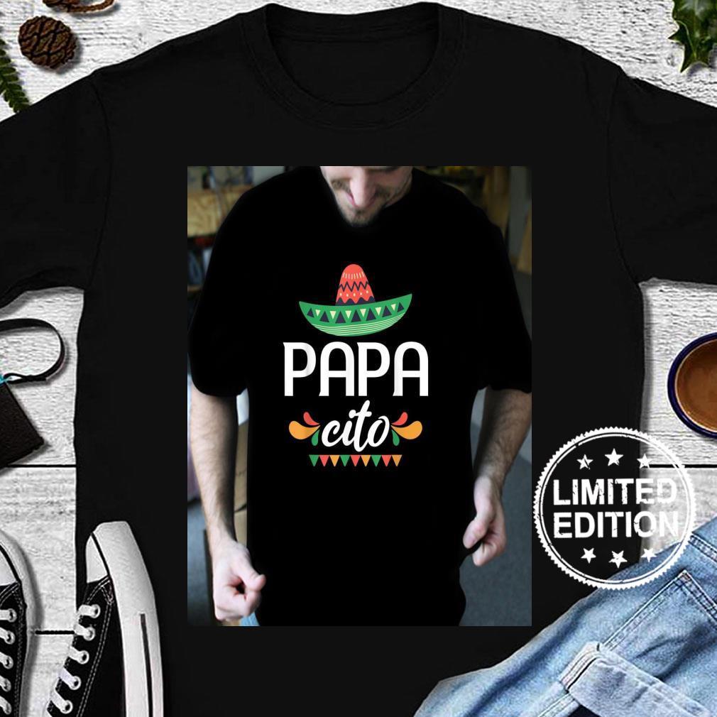 Papacito Serape Mexican Hat Cinco De Mayo Shirt long sleeved