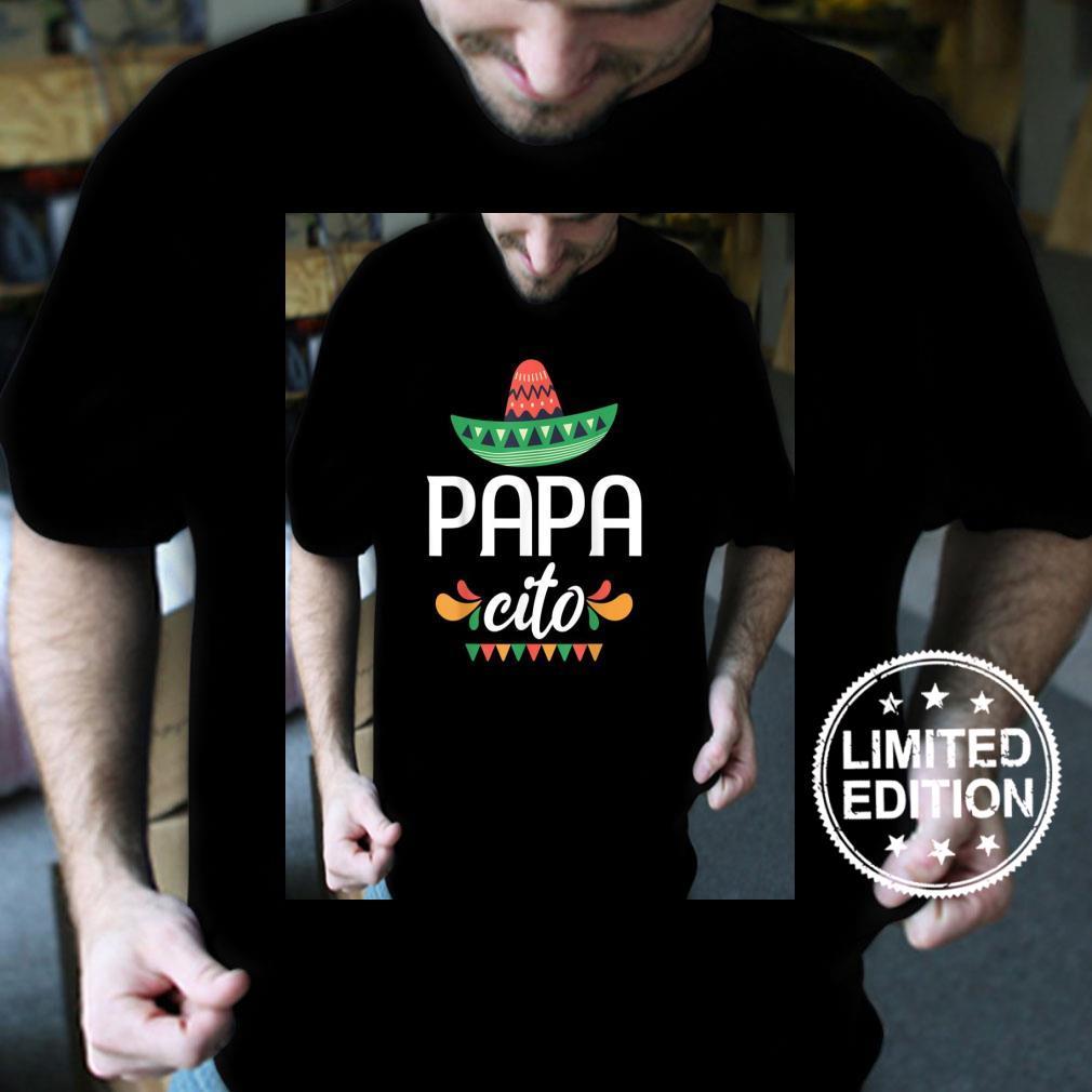Papacito Serape Mexican Hat Cinco De Mayo Shirt