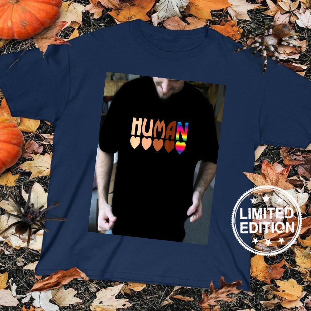 Solidarity Tolerance Human Heart Equality BLM Pride Shirt sweater