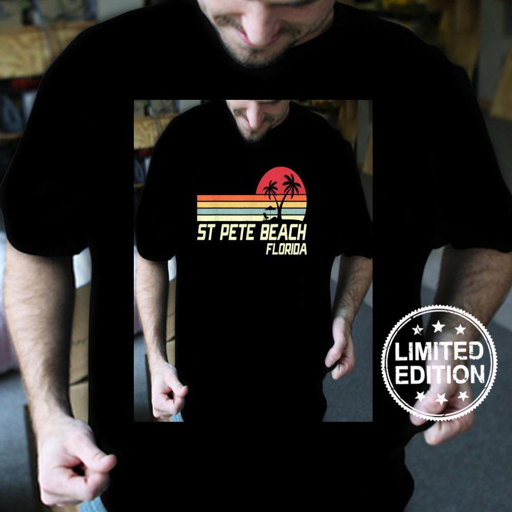 Summer Vacation Vintage Florida St Pete Beach Shirt