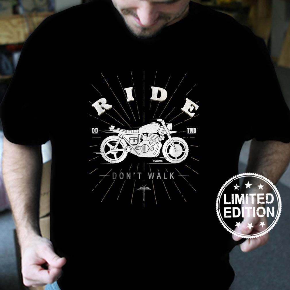 The Walking Dead Daryl Ride Don't Walk Shirt
