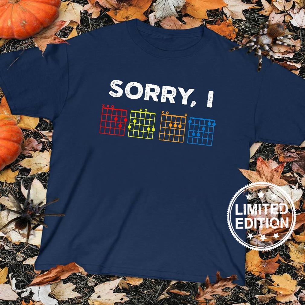 Vintage Sorry I D.G.AF Message Guitar Chords Shirt sweater