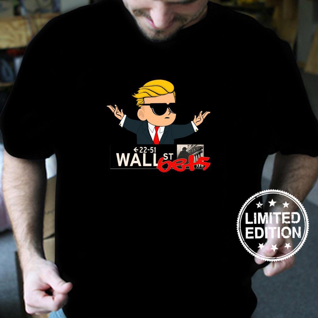 WSB Logo Wall Street Bets TO THE MOON Shirt