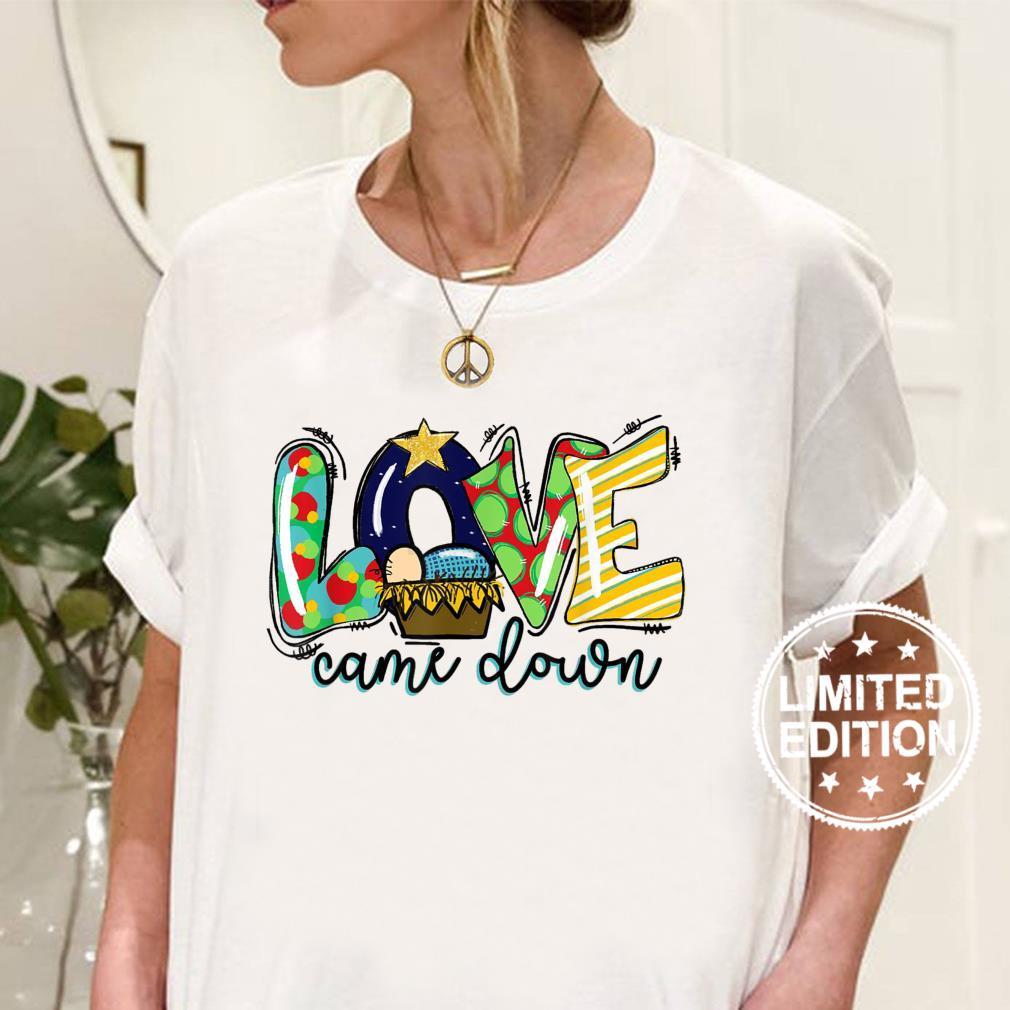 Western Leopard Cowhide Love Came Down Shirt