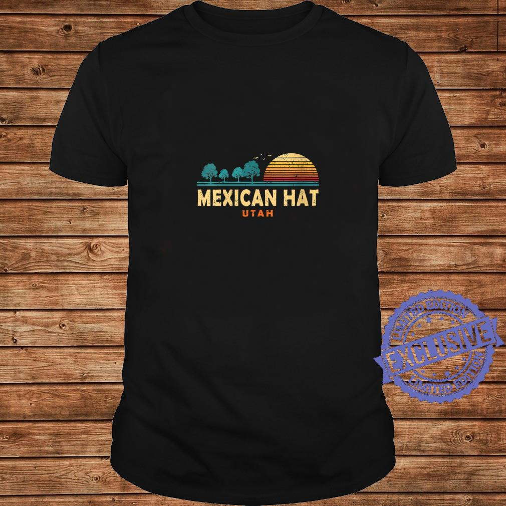 Womens Evergreen Sunset Mexican Hat Forest Utah Woods Nature Shirt long sleeved