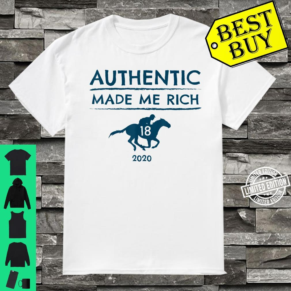 2020 Derby Race Winner Authentic Horse Racing Shirt