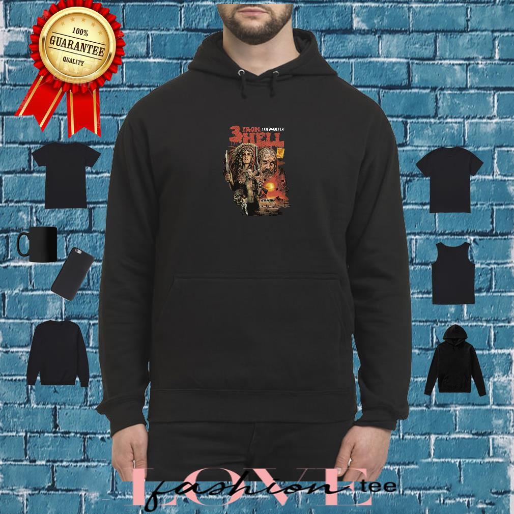 3 from hell a rob zombie film shirt hoodie