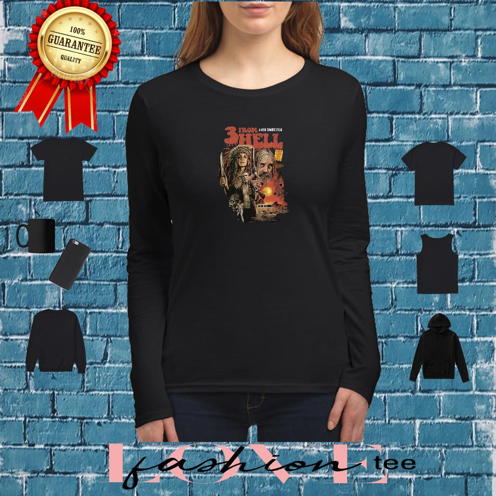 3 from hell a rob zombie film shirt long sleeved