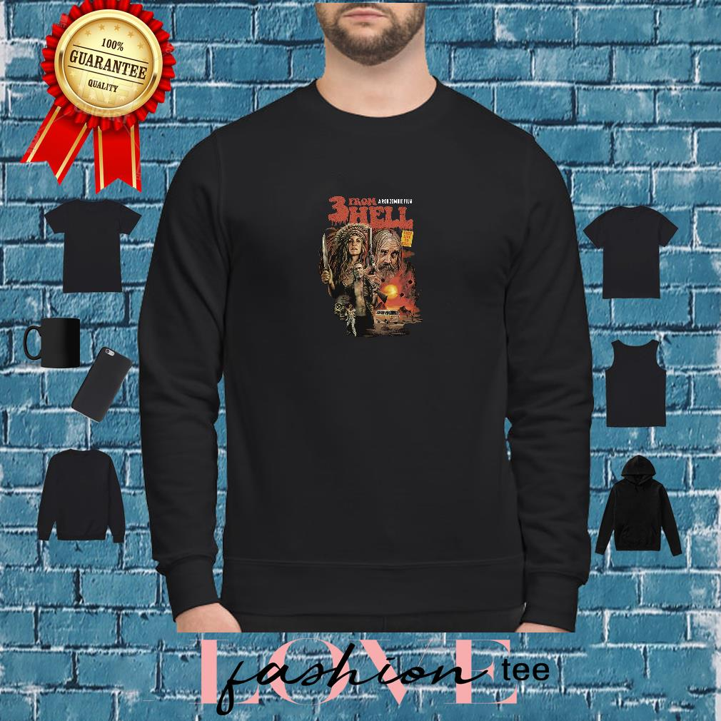 3 from hell a rob zombie film shirt sweater