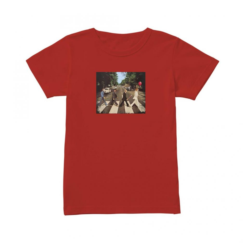 Abbey road 50th anniversary shirt ladies tee