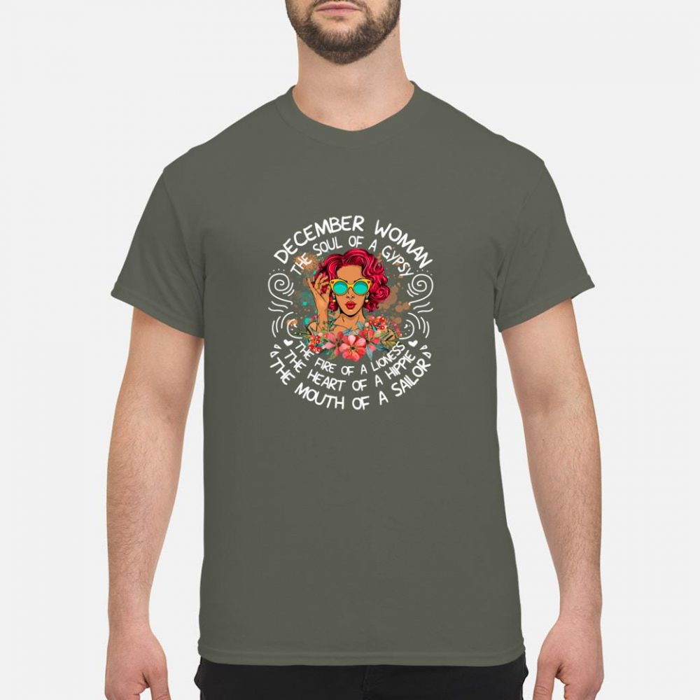 December Girls The Heart Of A Hippie Shirt