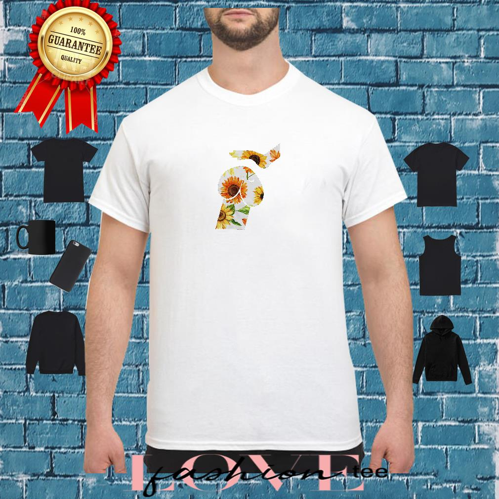 Dickhead dog sunflower shirt
