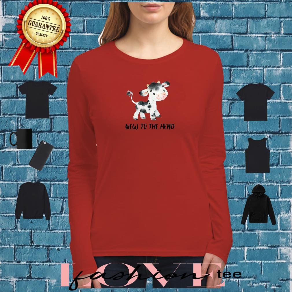 New to the herd shirt long sleeved