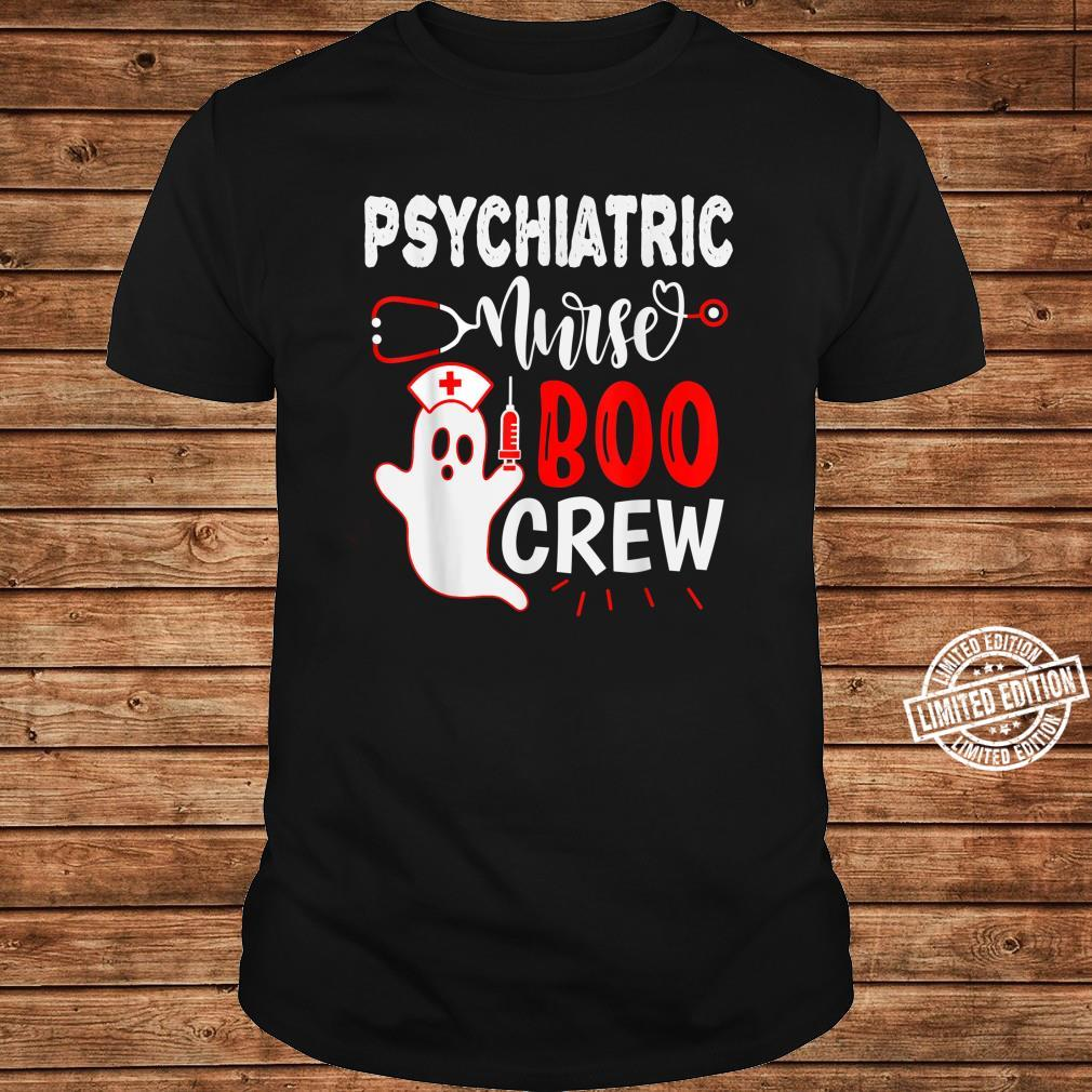 Psychiatric Nurse Halloween, Nursing Ghost Halloween Shirt long sleeved