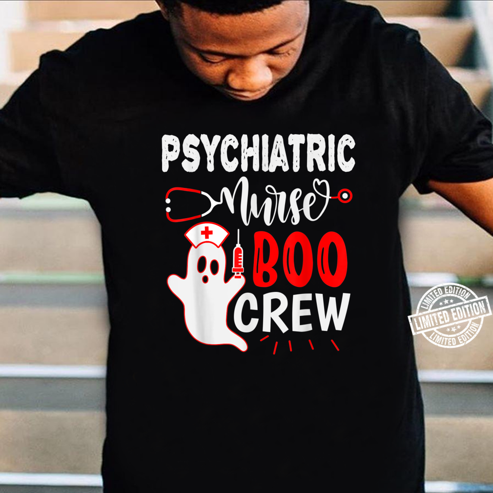 Psychiatric Nurse Halloween, Nursing Ghost Halloween Shirt