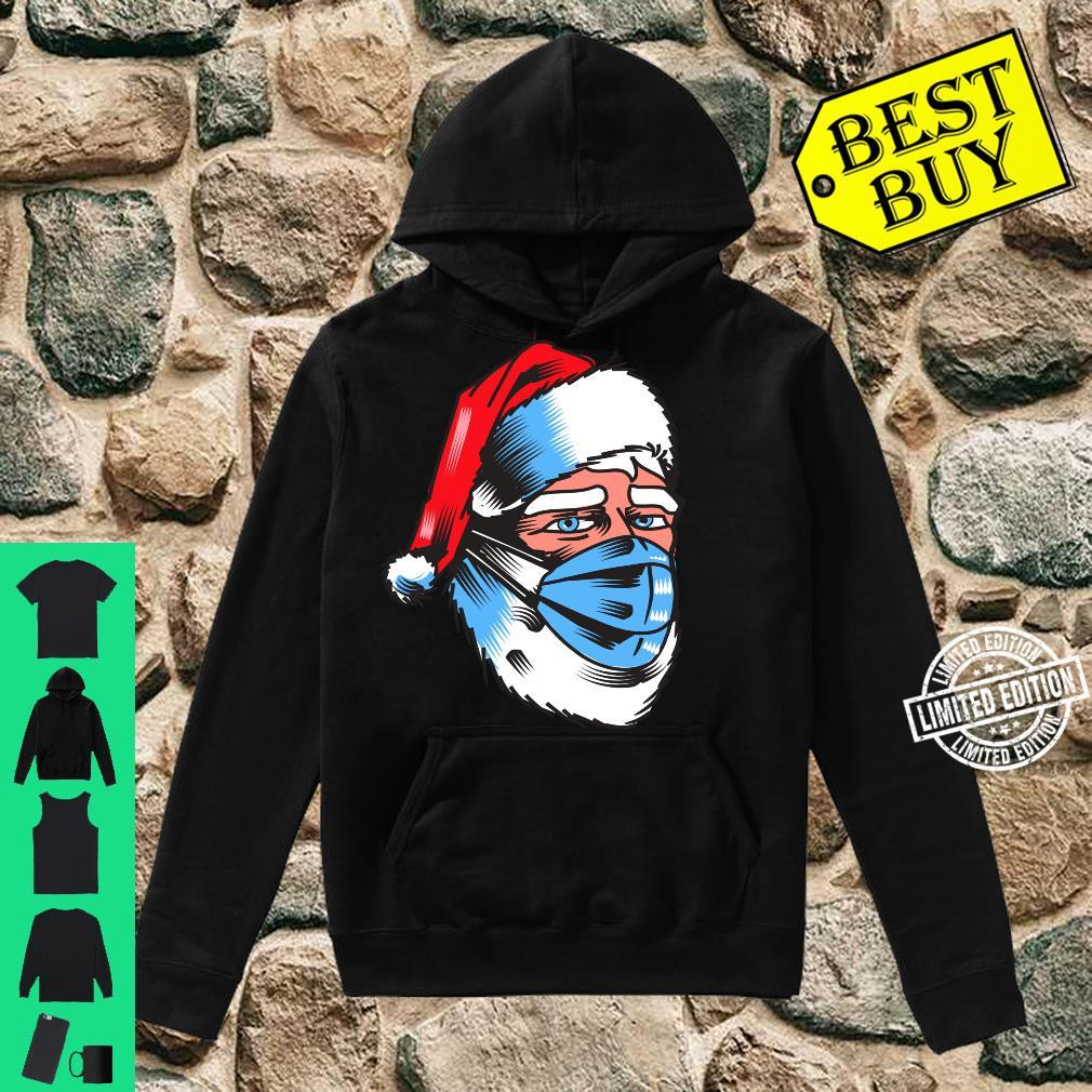 Safe Christmas Wear Mask Campaign Santa In Mask Shirt hoodie