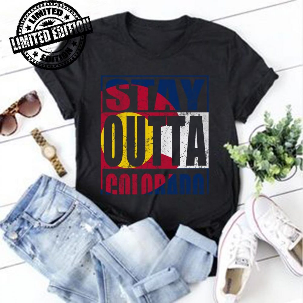 Stay Outta Colorado Flag shirt