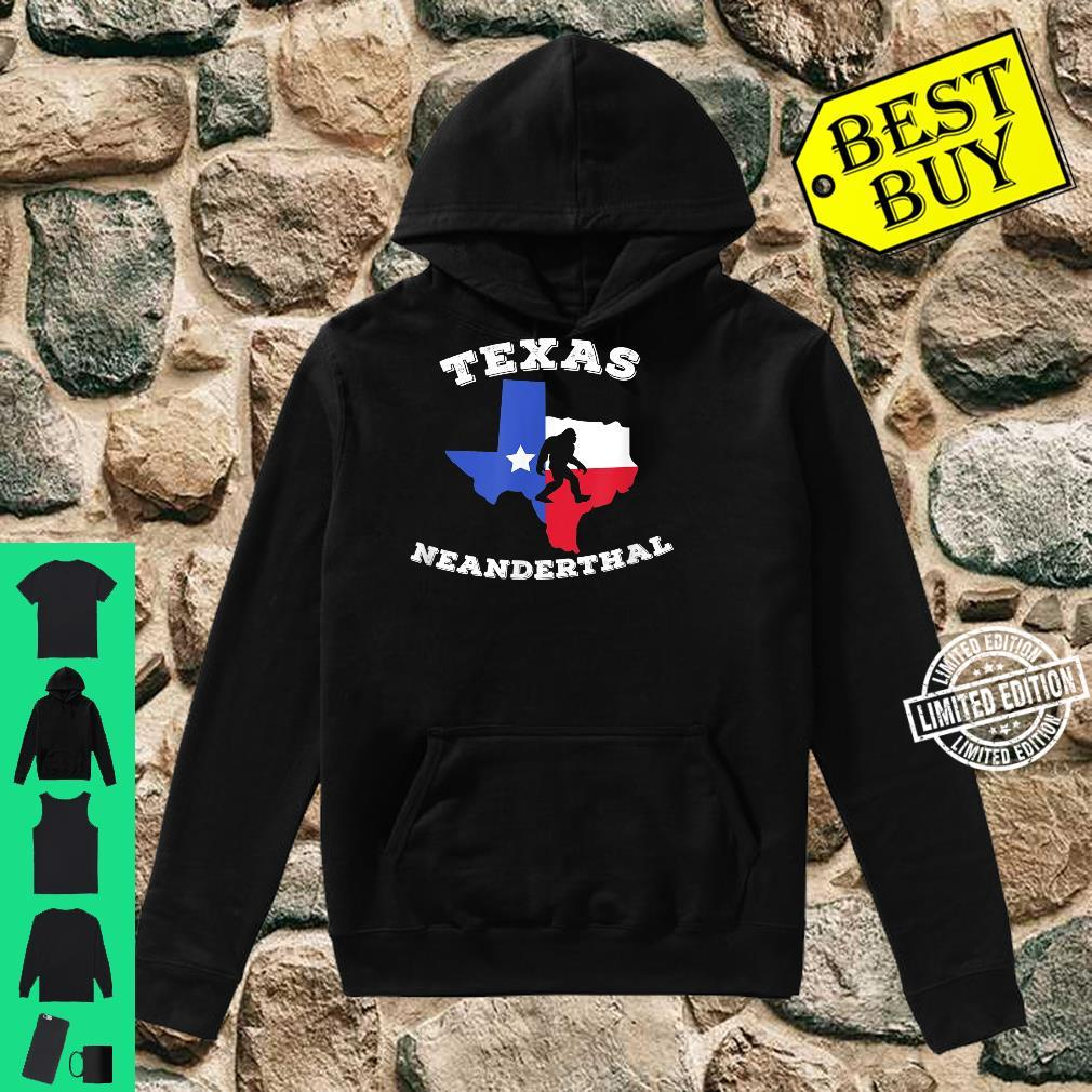 Texas Neanderthal Thinking Texan Political Shirt hoodie