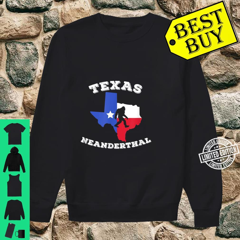 Texas Neanderthal Thinking Texan Political Shirt sweater