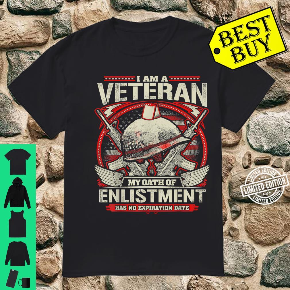 Veteran Oath Of Enlistment 2nd Amendment Freedom Shirt