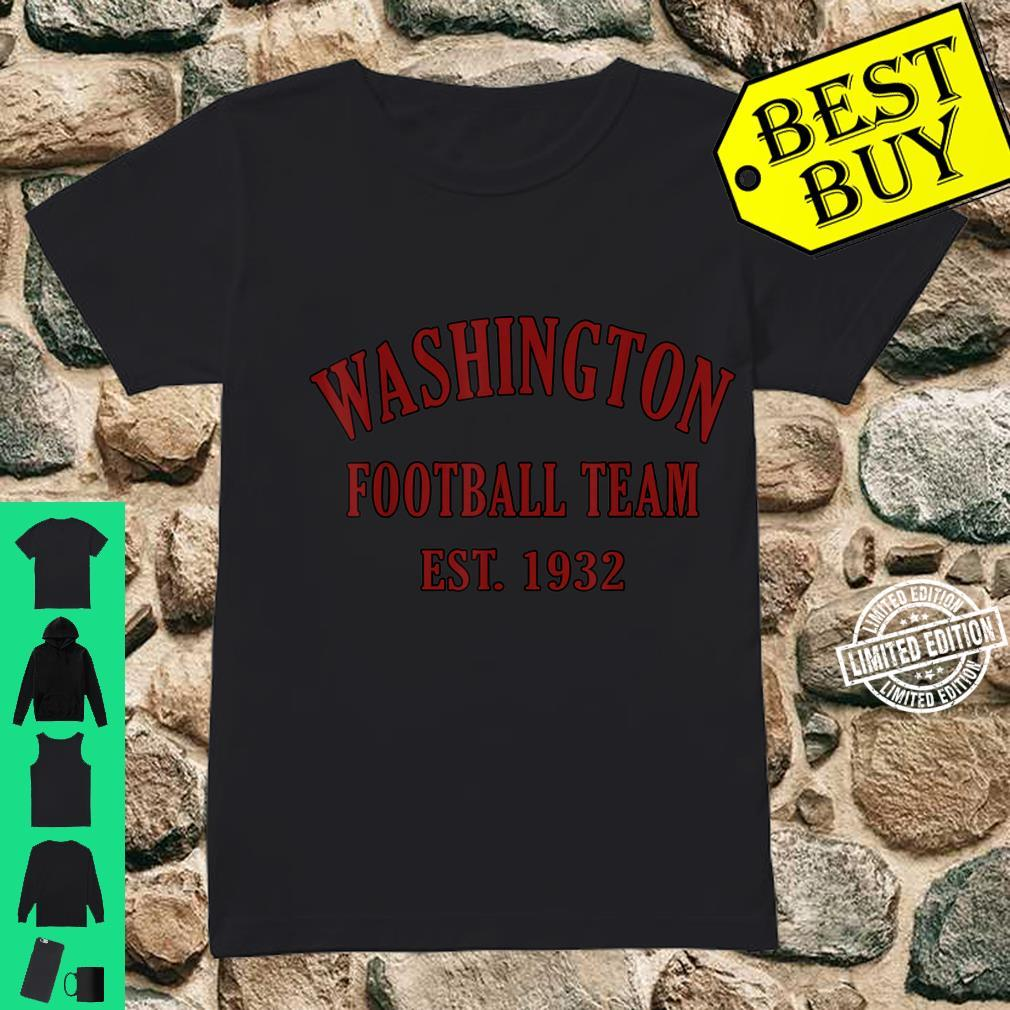 Vintage Washington Football DC Sports Novelty Shirt ladies tee