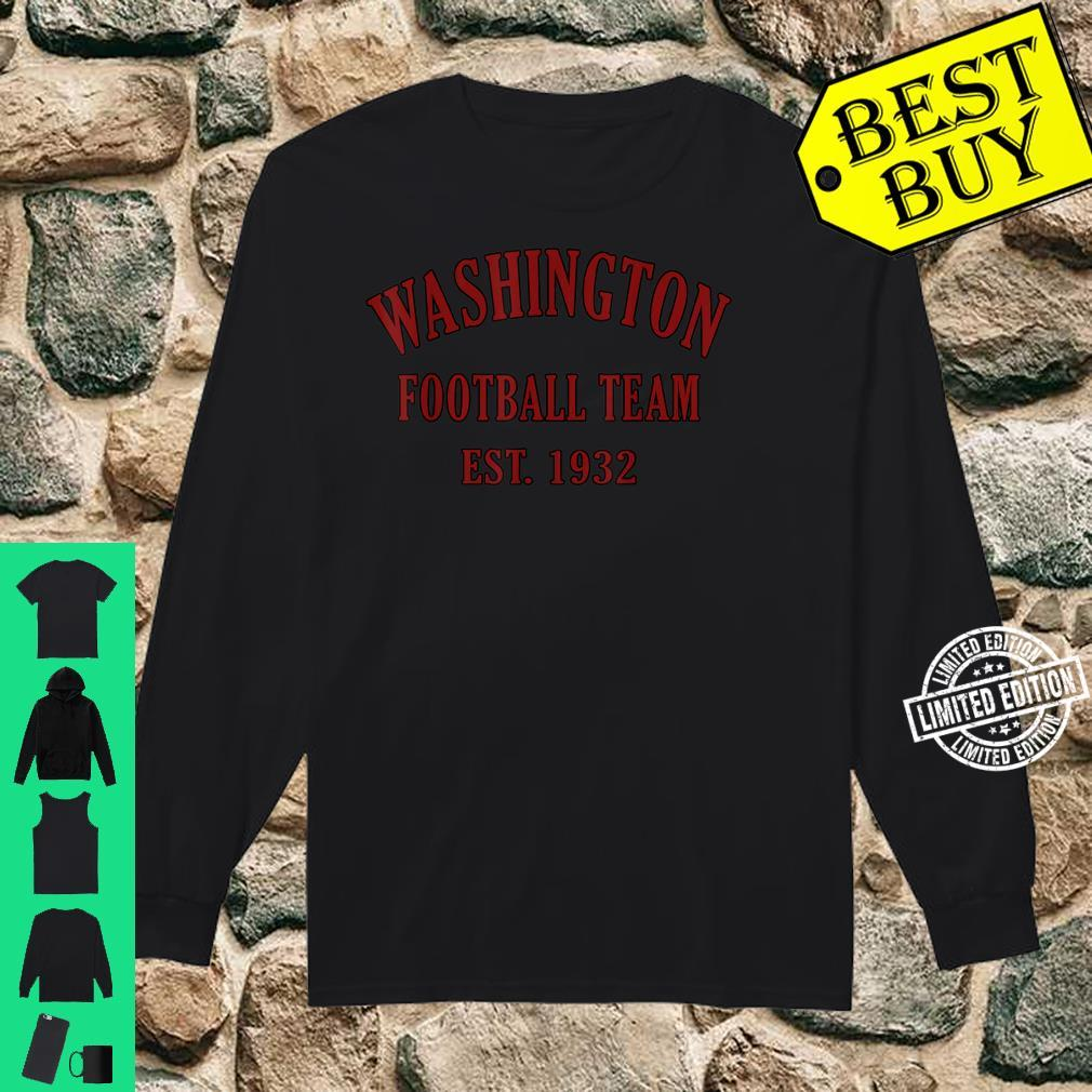 Vintage Washington Football DC Sports Novelty Shirt long sleeved