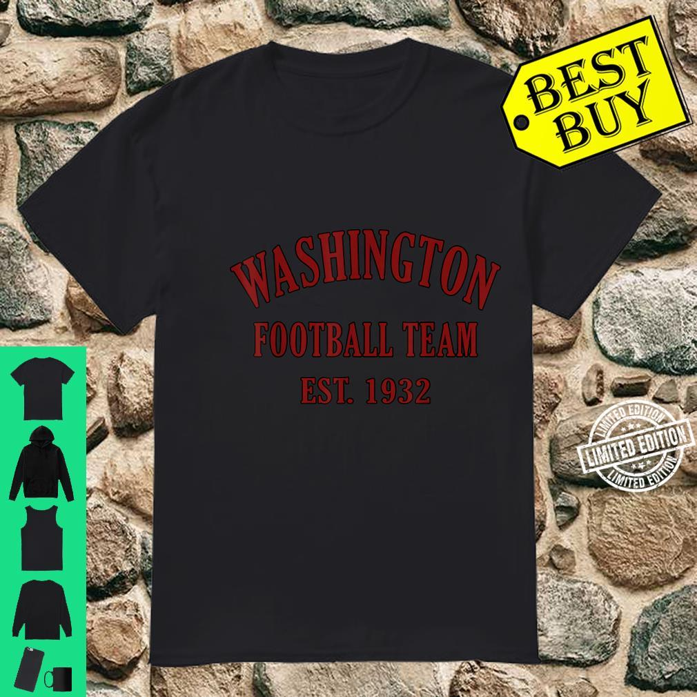 Vintage Washington Football DC Sports Novelty Shirt